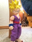 Teen Gohan SSJ Figure Project, clothes, check by Tomistral