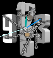 Chain-Clock-With-Mouse-Zoom 6-2-1 by xordes