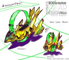 Ex Gear Design Req. : Zappy by PsuC