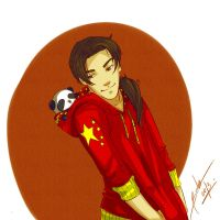 Hetalia - China by Bisho-s