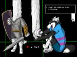 Encounters of Lesser Dog by VioletHusky1997