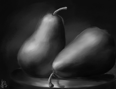 #230217 - Pear study by Aster1os
