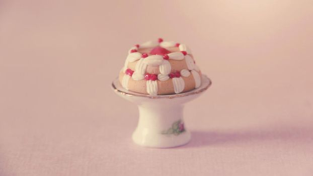 Miniature Berry Cake by MusicRains