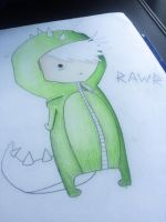 RAWR Chibi WIP by Sam--I--Am