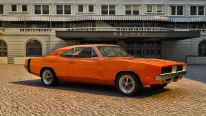 1969 Dodge  Charger RT-SE by melkorius