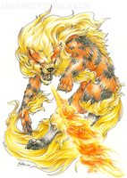 Arcanine by Endivinity