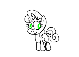 Yes i know i draw Sweetie Belle a lot by TwitchaToon
