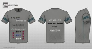 I Am You-You Are Me t-shirt design by Shayan-Nayash