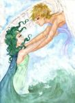 Wind and the Ocean by LoveSenshi