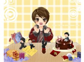 DBSK-Happy Bday Jaejoong by Kairei