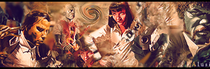 Pulp Fiction by Alusionx