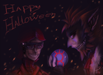 Happy Halloween Drawing by yamihp7