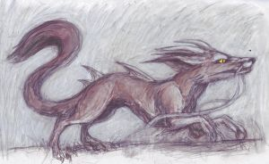 Fox Dragon by LinmirianJoyrex