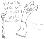 The Ghost of Future's Past. by SomebodySuperCoolio