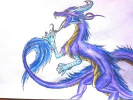 Japanese dragon by ShadowDragon105