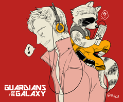 Guardians of the Galaxy by yahuxx28