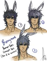 -Bunnymund Human Concept Designs- by KT-ExReplica