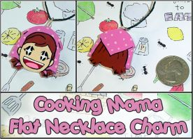 Cooking Mama - Necklace Charm by YellerCrakka