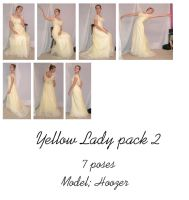 Yellow Lady pack 2 by Nekoha-stock