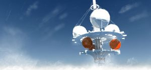Stratotower concept by Skaiway