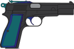 Figge's Browning Hi-Power by Stu-artMcmoy17