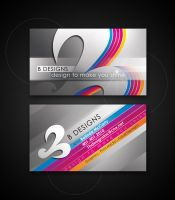 B DESIGNS business card by AnotherBcreation