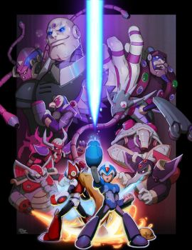 Mega-Man Tribute: Game On by DarkKenjie