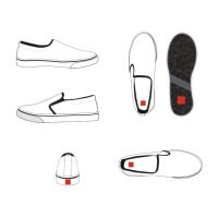 Slip On Shoes Editable by andifitriyanto