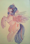 Alicorn Twilight Sparkle painting ( auction ) by Busoni