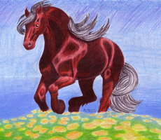 If Friesians were RED by andpie
