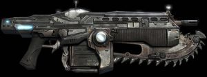 Gears of War: Mk 2 Lancer Assault Rifle by FPSRussia123