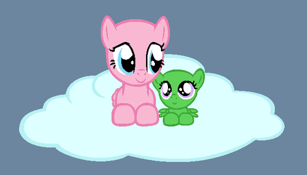 Floating Together by BatmanBrony