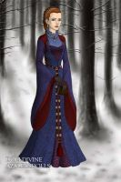 Catelyn of House Tully v2 by DaenatheDefiant