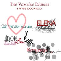 The Vampire Diaries Pack PNG'S by AshleyWaterloo
