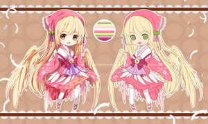 Chi x Omo Collab adopt 01 Auction [CLOSED] by Hachiimi