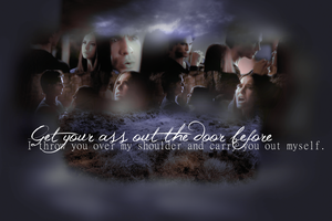 Damon and Elena lil fight by Meybeline