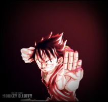 One Piece Monkey D.Luffy 2 by Adonis90