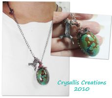 Chase Necklace by CrysallisCreations