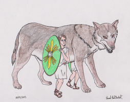 Age of Mythology TRL - Mother Wolf by Tapejara