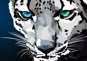 Snow Leopard by elviraNL