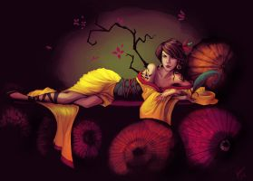 Lady of the Parasols by KiloWhat
