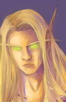 Kael'thas Sunstrider by RavenNoodle