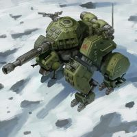 Soviet Grizzly Tank by SC4V3NG3R