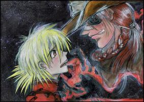 Seras and Pip 2 by MissSeras