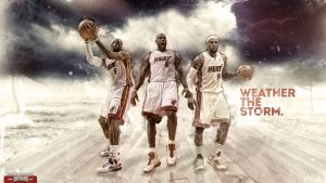 LeBron James 2012 Finals Wallpaper by Angelmaker666