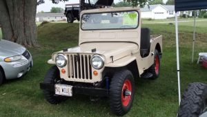 1951 Willys CJ3A by sfaber95