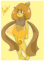 Fusion- Big Amber by Artist-squared