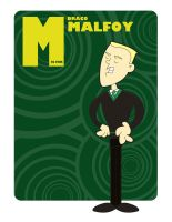 M is for Draco Malfoy by jksketch