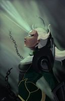 LoL Diana Graphic Novel Cover by FarahBoom