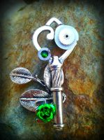 Earth Eternal Fantasy Key by ArtByStarlaMoore